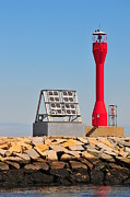 Catherine Reusch Daley Prints - Breakwater Light Print by Catherine Reusch  Daley