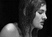 Photo Realism Drawings - Breath by Dirk Dzimirsky