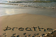 Word Art Originals - Breathe by Marianne Hale