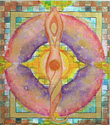 Sacred Artwork Originals - Breathing in the Balance by Cheryl Irwin