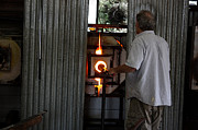 Glass Blowing Art - Breathing Life Into Silica Series - 6 by David Bearden
