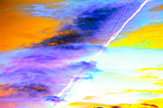 Colorful Cloud Formations Prints - Breathtaking Sky Color Palette  Print by Ann  Murphy