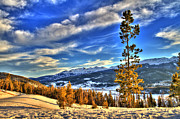 Ski Art Photo Posters - Breckenridge Skies Poster by Scott Mahon
