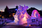 Michael J Bauer - Breckenridge Snow Art