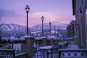 Colors Prints - Breckenridge Village Print by Michael J Bauer