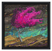 Hot Tapestries - Textiles - Breeze 3 by Lorraine Roy