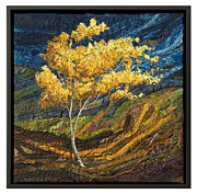 Storm Tapestries - Textiles - Breeze 5 by Lorraine Roy