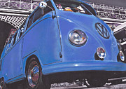 Volkswagen Pastels Prints - Breeze Print by Art Haus Ink