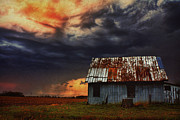 Barn Storm Prints - Brewing Storm Print by Jeffrey Walker
