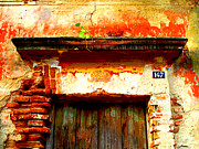 Olden Mexico - Brick and Old Wood