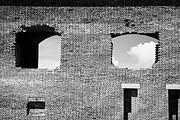 Brick Construction Of The Walls Of Fort Jefferson Dry Tortugas National Park Florida Keys Usa Print by Joe Fox