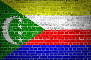 Stonewall Prints - Brick Wall Comoros Print by Antony McAulay