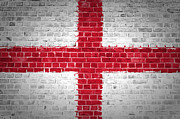 Building Exterior Digital Art - Brick Wall England by Antony McAulay
