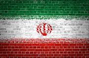 Stonewall Prints - Brick Wall Iran Print by Antony McAulay
