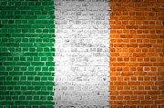 Stonewall Prints - Brick Wall Ireland Print by Antony McAulay