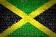 Stonewall Prints - Brick Wall Jamaica Print by Antony McAulay