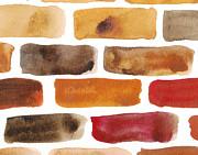 Brick Wall Print by Kerstin Ivarsson