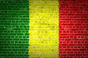 Stonewall Prints - Brick Wall Mali Print by Antony McAulay