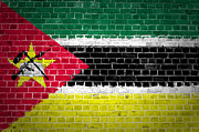 Stonewall Prints - Brick Wall Mozambique Print by Antony McAulay