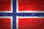 Stonewall Posters - Brick Wall Norway Poster by Antony McAulay