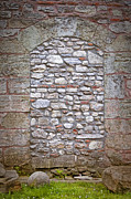 Medieval Entrance Prints - Bricked Up Doorway Print by Antony McAulay