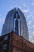 Nashville Tennessee Prints - Bricks and Glass Print by CJ Schmit