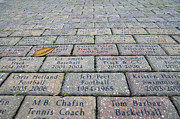 Heisman Art - Bricks at Ben Hill Griffin Stadium by William Ragan