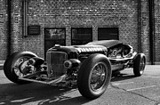Brickyard Buick Print by Peter Chilelli