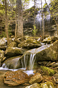 Jason Politte Prints - Bridal Veil Falls and Stream - Heber Springs Arkansas Print by Jason Politte