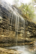 Heber Springs Prints - Bridal Veil Falls - Heber Springs Arkansas Print by Jason Politte