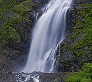 Ledge Photos - Bridal Veil Falls by Nick  Boren
