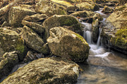 Heber Springs Prints - Bridal Veil Stream - Heber Springs Arkansas Print by Jason Politte