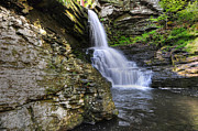 Poconos Art - Bridal Veil Waterfalls by Paul Ward