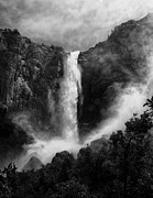 Mountains Prints - Bridalveil Falls Print by Cat Connor