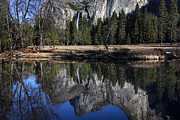 Falls Art - Bridalveil Falls Reflection  by Garry Gay