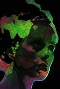 "\""once Upon A Time\\\"" Digital Art - Bride of Frankenstein Green by Barry Sachs"