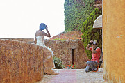 Lorella  Schoales - Bride Photo Shoot in Eze