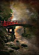 Bridge Print by Andrzej Szczerski