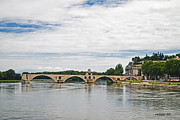 Allen Sheffield - Bridge at Avignon