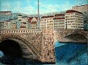 Irving Starr - Bridge in Lyon