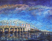 Florida Bridge Originals - Bridge of Lions by Mike McCaughin