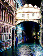 Bridge Of Sighs Print by M and L Creations