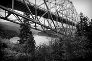 Mt Hood National Forest Prints - Bridge of the gods 1 Print by Rudy Umans