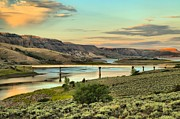 Gunnison Framed Prints - Bridge Over Blue Mesa Framed Print by Adam Jewell