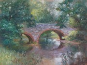 Bridge Over Cocalico Creek Print by Bill Puglisi