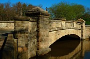 Northend Photos - Bridge Over Not so Troubled Waters by Bob Fromm
