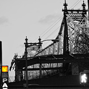 Broadway Digital Art Metal Prints - Bridge to Gotham Metal Print by Anahi DeCanio