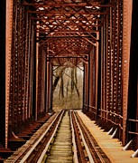 Bridgescape Prints - Bridge to Nowhere Print by David Mace