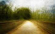 Abstract Landscape Art - Bridge to the Invisible by Scott Norris