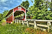 Covered Bridge Prints - Bridge To Yesterday Print by Adam Jewell